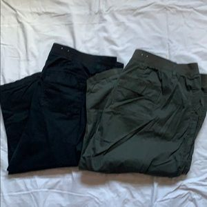 Sonoma Hunter Green & Black Capri Bundle